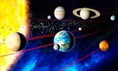 Sonnensystem in 3D