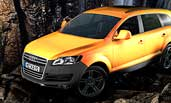 Audi Q7 Auto Automobile Lack Crhome Textur Shader Modell Mesh Cinema4D Cinema 4D Zbrush