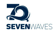 Seven Waves Logo Design