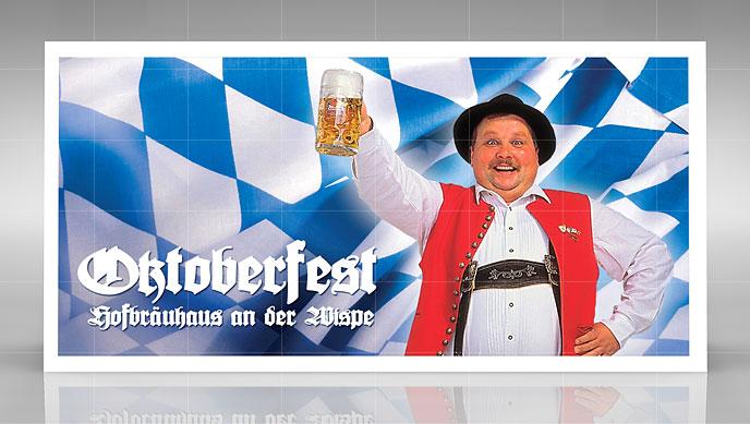 Oktoberfest Einladung Und Geburstagskarte
